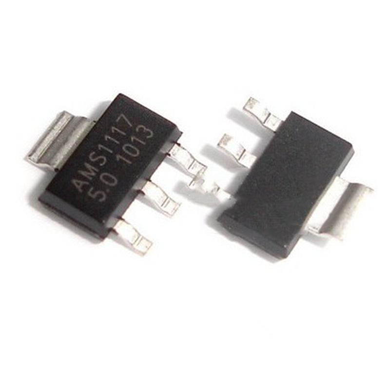 50pcs/lot AMS1117-5.0 SOT-223 5V Linear Regulator LM1117