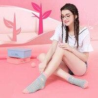 Women S Sports Socks Cotton Lady Business Casual Socks Antibacterial Deodorant Natural LE1 5