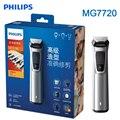 Philips Multigroom MG7720 Elektrische Rasierer für Gesicht Haar Körper mit DualCut technologie Showerproof für männer Rasiermesser