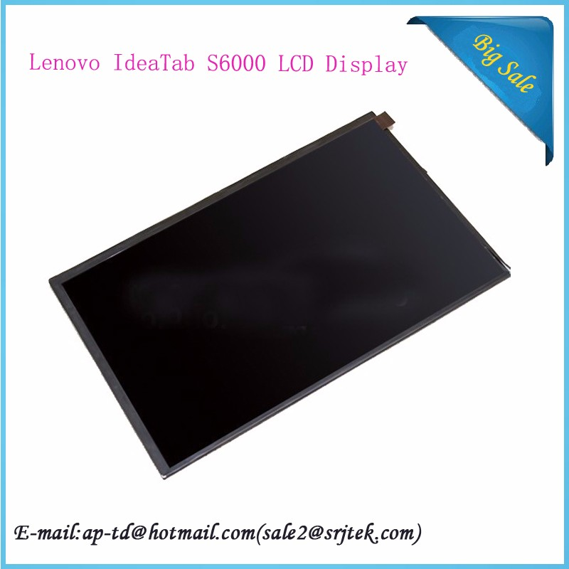 For Lenovo IdeaTab S6000 10.1 LCD Display Panel Screen Replacement Repairing Parts Fix Part FREE SHIPPING аксессуар чехол lenovo ideatab s6000 g case executive white