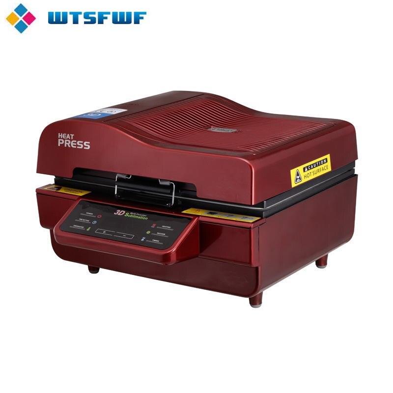 Freeshipping wtsfwf a3 ST 3042 3d sublimação impressora da imprensa de calor máquina da imprensa do calor para casos canecas placas vidros cerâmica madeira - 2