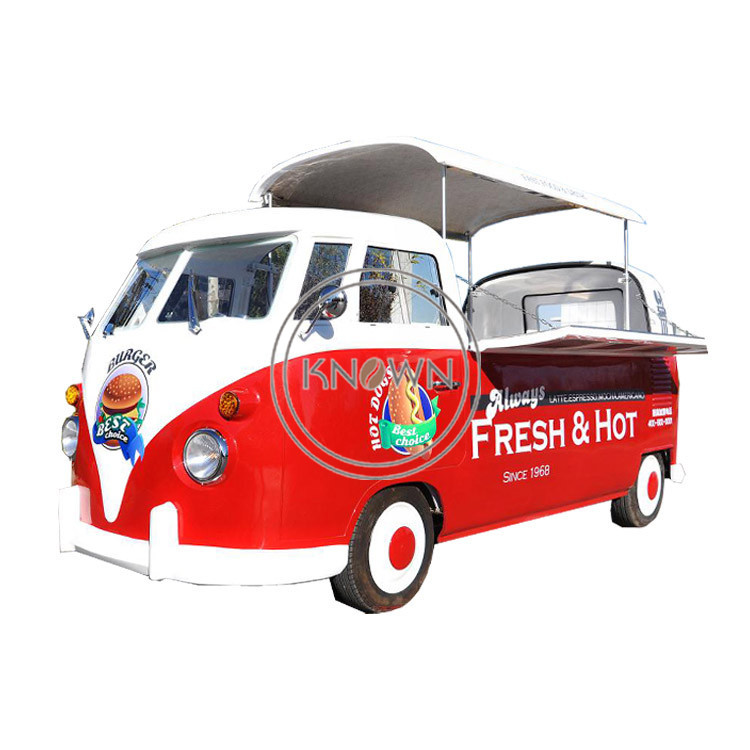 Hot Sale T1 Fast Food Fruits Mobile Food Cart Truck