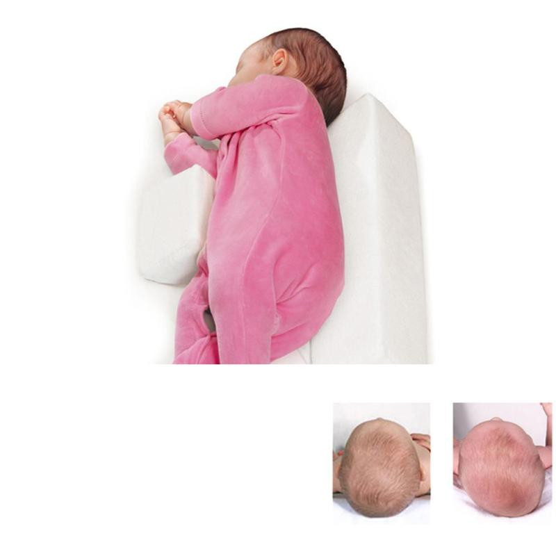 High-quality-pillow-Newborn-Baby-Infant-Sleep-Positioner-Prevent-Flat-Head-Shape-Anti-Roll-Pillow-2018(3)