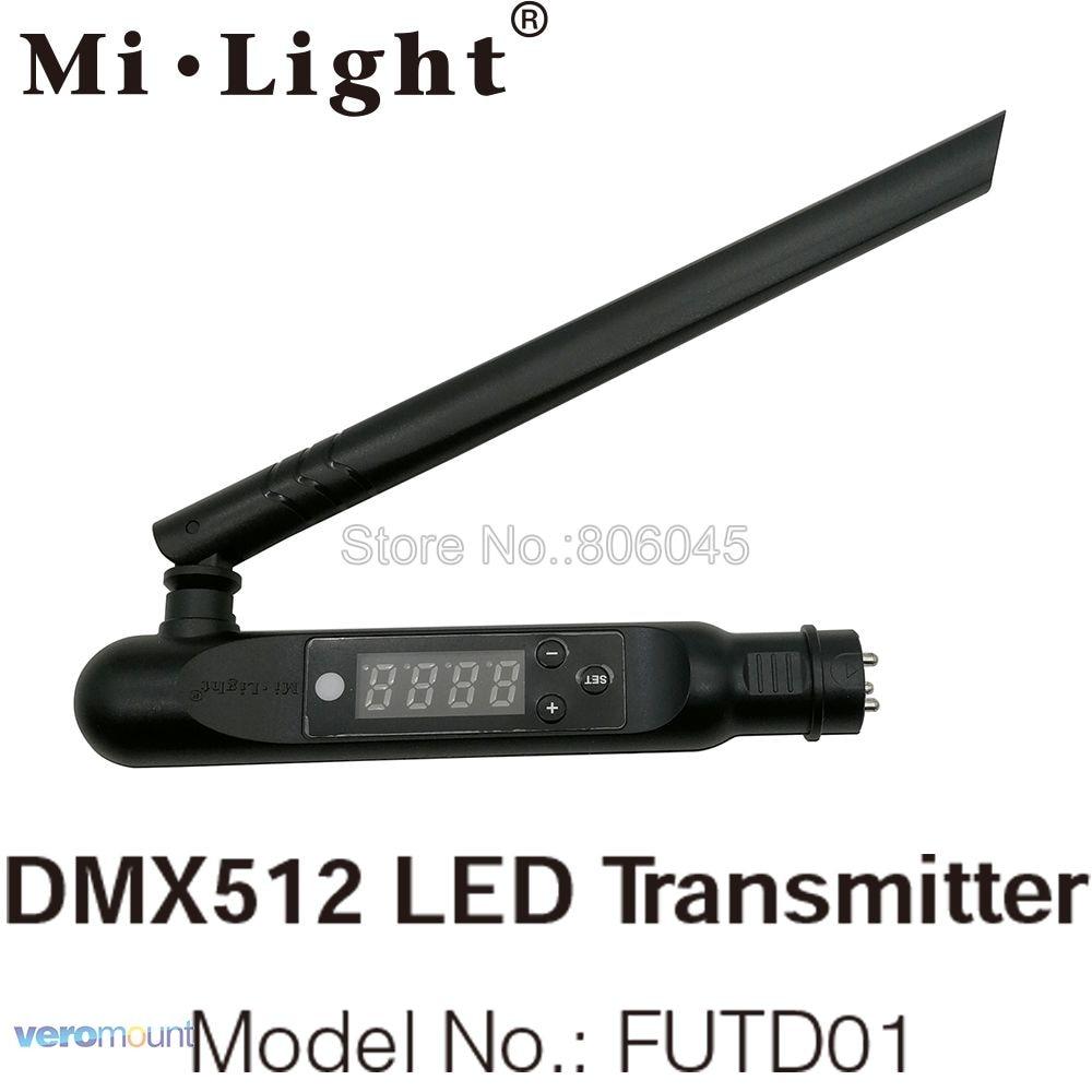 milight futd01 dmx 512 led transmitter 2 4g wireless 3pin xlr dmx512 receiver adapter for disco. Black Bedroom Furniture Sets. Home Design Ideas
