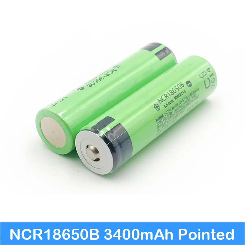 <font><b>18650</b></font> battery <font><b>NCR18650B</b></font> 3400mAh with pointed 3.7V Suitable for flashlights Plus pointed no protection <font><b>ncr18650b</b></font> 3400mah new se05 image