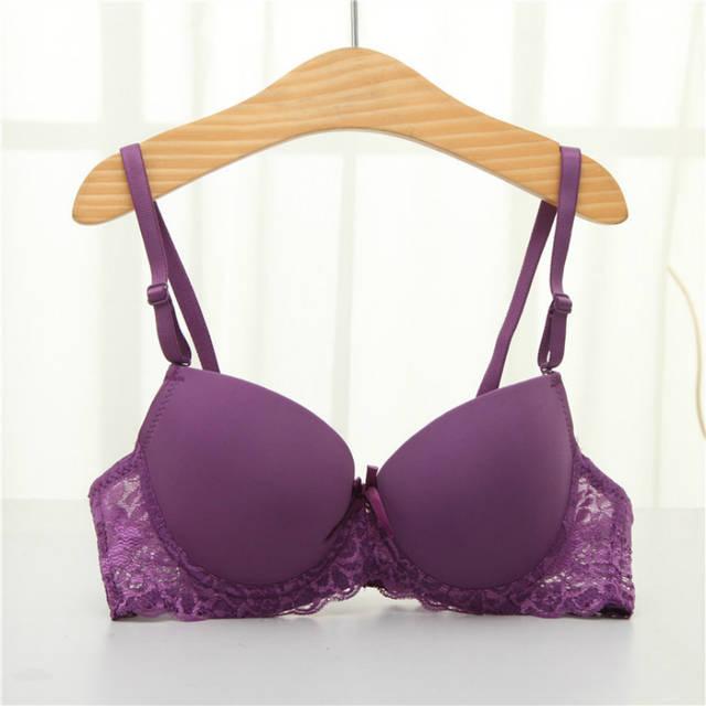 064015c0c7 Online Shop Wireless Bras For Women Deep V Low Cut Women Sexy Push Up Bra  Thick Padded Bras For Women Underwear Gather Super Push Up Bras
