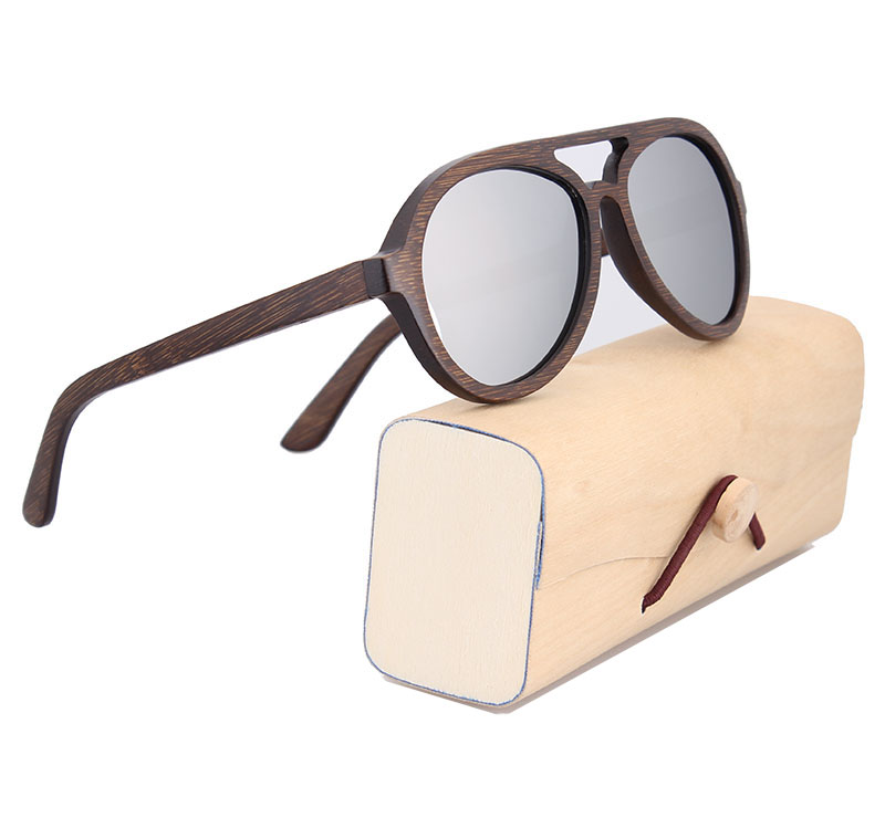 Image 3 - POP AGE солнцезащитные очки мужские желтые зеркальные Полароид деревянные очки для вождения классические ретро поляризованные солнцезащитные очки мужские брендовые авиадор-in Мужские солнцезащитные очки from Аксессуары для одежды on AliExpress - 11.11_Double 11_Singles' Day