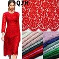 1.5*1.5 metros Bordado Cílios Rendas de Algodão Tecido Cordão Laço Francês Tecido Guipure Rendas Para A Festa de Casamento Africano Nigeriano vestido