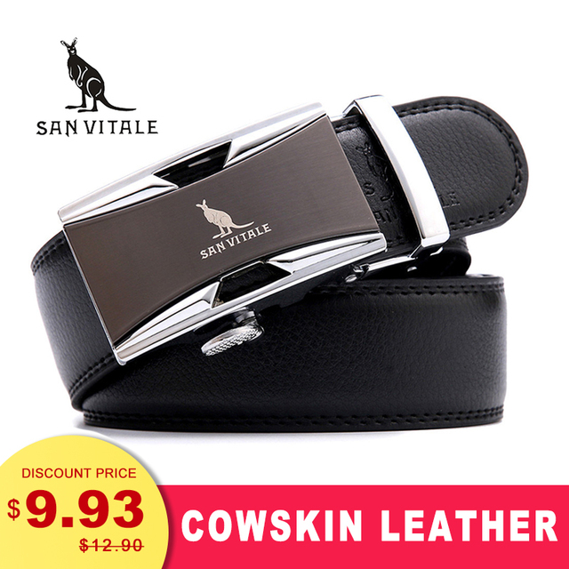 Famous Cow skin Genuine Luxury Leather Belt 1