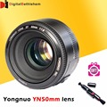 YONGNUO 50mm Lens for Canon F1.8 Large Aperture AF/MF Auto Focus Full Frame Lens YN50mm/f1.8