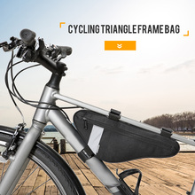 Bike Seat Top Tube Bag Cycling Triangle Frame Outdoor Bicycle Saddle Pack Accessories
