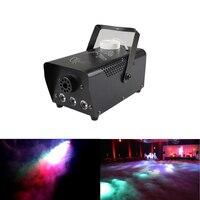 Mini 400W RGB LED Color Remote Control Smoke Fog Machine Stage Lights Smoke Effect