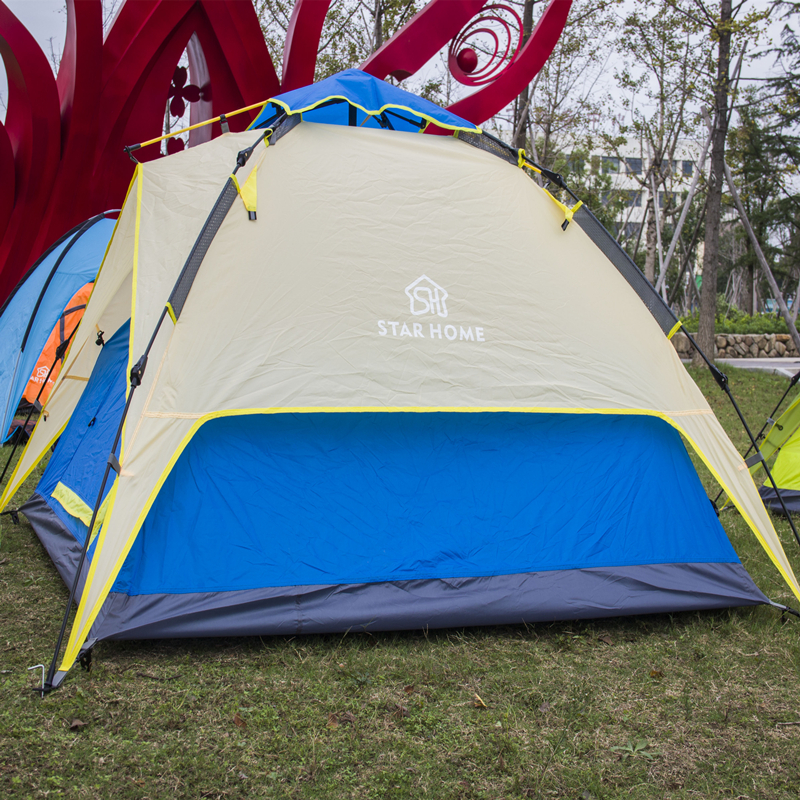 Outdoor Tent Camping Picnic Tents Double Layer Tent Beach Camping Tent 4 Seasons outdoor camping tent 3 4 beach tent camping tent single summer mosquito children play tent