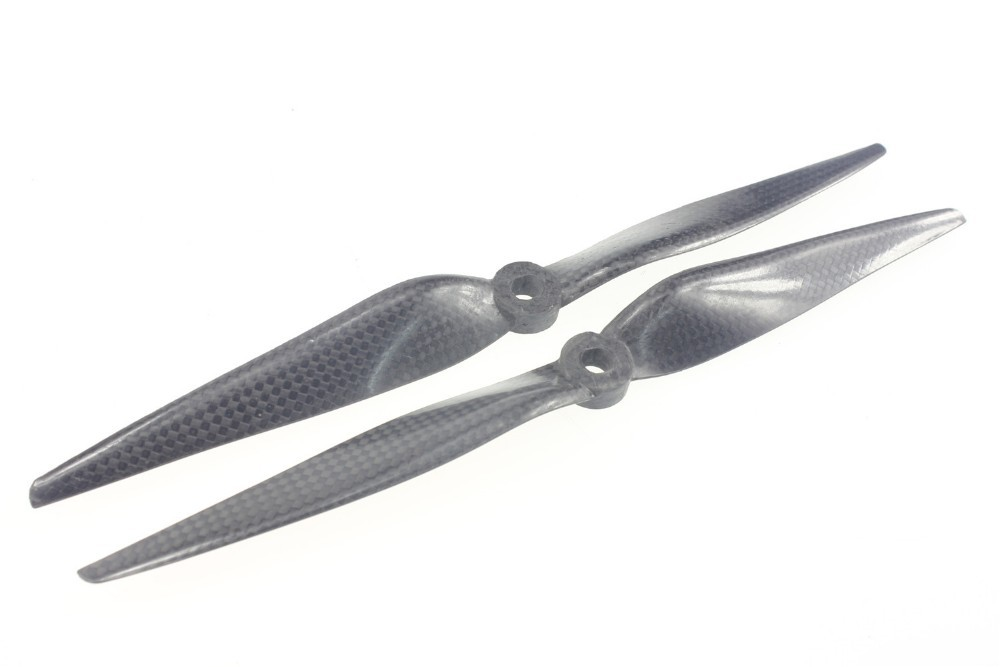 JMT 1 Pairs 10x3.8 Carbon Fiber Propeller CW CCW 1038 for DJI F450 F550 10inch 10 Drone Accessory Parts Black Color Parts 02430 jmt 4 pairs 18x5 5 3k carbon fiber propeller cw ccw 1855 cf props cons 3 holes for large hexacopter octocopter multi rotor