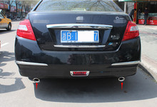 Car Styling! 1pcs Stainless steel Rear Exhaust Muffler Tail Tip End Pipe for Nissan Teana Altima 2008 2009 2010 2011 2012