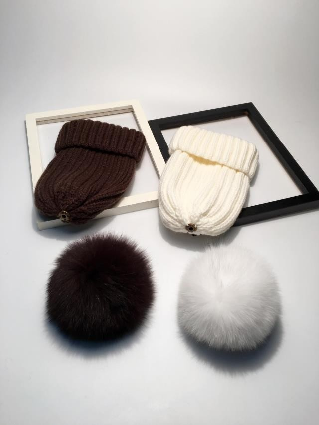 pompom hat fur hat winter hats for women knitted hat winter beanie hat women hat (6)