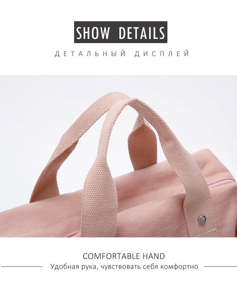 Outdoor Top Canvas Waterproof Sports Gym Bag Women Men For Gym Fitness Training Shoulder Travel Handbag yoga Bag Luggage