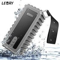 LEORY Outdoor Waterproof Wireless Bluetooth Speaker Super Stereo Bass TF AUX FM Radio