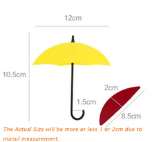 Colorful Umbrella Shape Wall Decor 6pcs/set