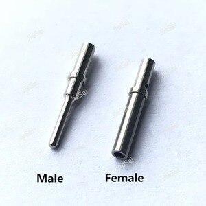 Image 2 - 100 adet DT serisi Pin İletişim 0462 201 16141 0460 202 16141 paslanmaz çelik 16 20AWG Deutsch kıvrım katı terminali kadın erkek