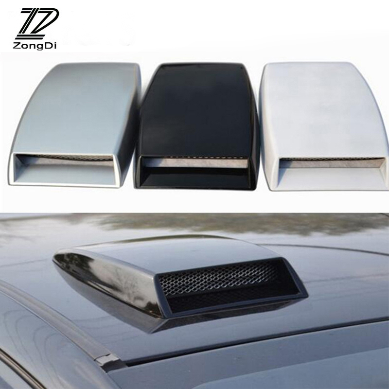 ZD For Volvo S60 V70 XC90 Subaru Forester Peugeot 307 206 308 407 2008 Car Front Fender Engine Hood Air Vent Trim Cover Sticker volvo fh4х2 2008 года