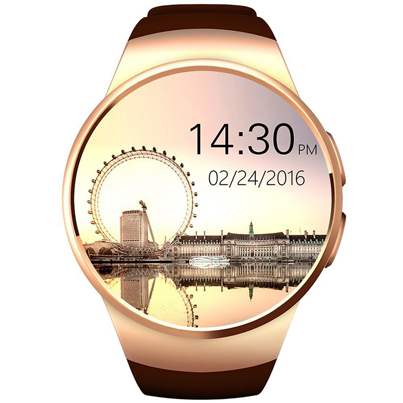 ФОТО Bluetooth Wrist Smart Watch for iOS iPhone Android Samsung LG KW18 Smart Watch with Remote Camera Heart Rate Support SIM TF Card