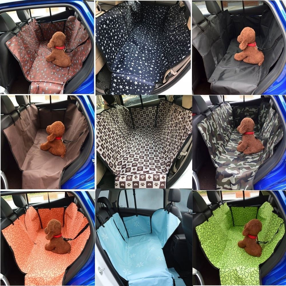 High Quality Waterproof Pet Dog Car Rear Back Seat Cover Blanket Waterproof Cushion Protector Hammock Christmas Gift in Houses Kennels Pens from Home Garden