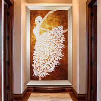 DIY Diamond Embroidery, Full Paste, Diamond Painting Cross Stitch,Ballet Dancer,Portrait,Diamond Needlework, Wall Art Decor,Gift