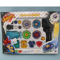 4 Pics Beyblade Constellation Alloy Combat Set Metal Spinning Tops Gyro Fusion  Limited Edition Kids Game Toys