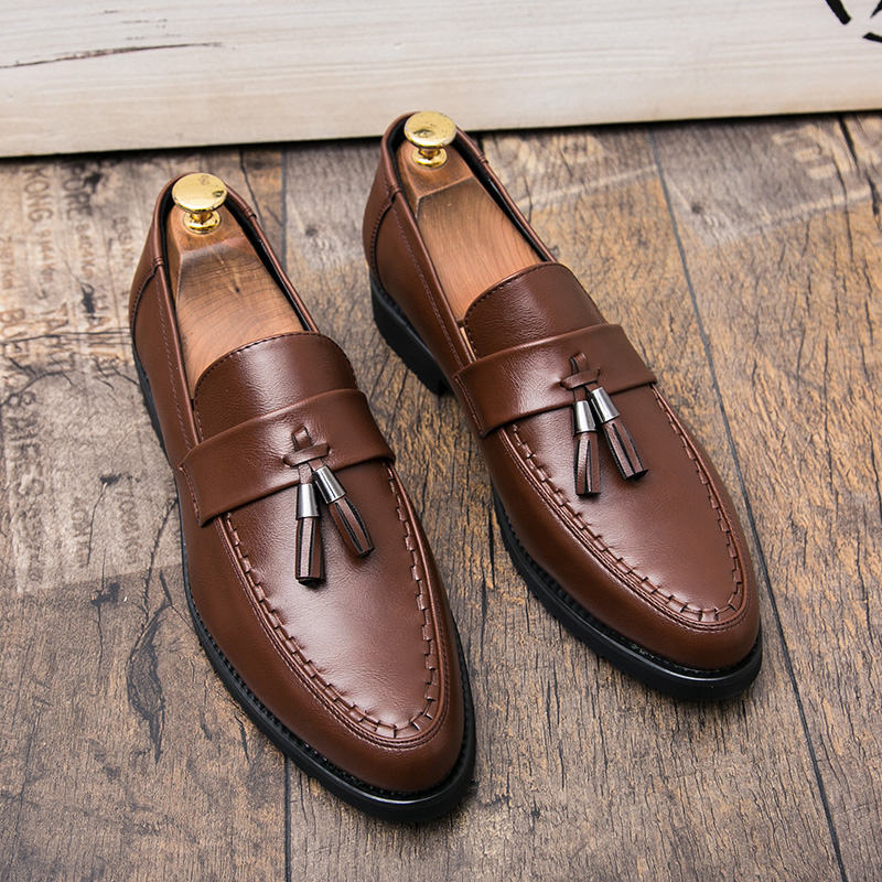italian tassel business men shoes leather elegant formal dress flats designer office footwear luxury brand oxford shoes for men (31)