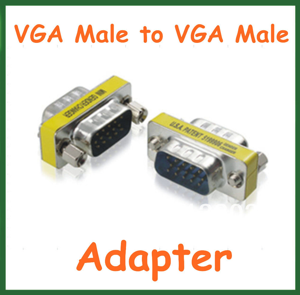 5pcs Vga Male To Computer Adapter Ac Dc Power Supply 60w 24vdc 25a Active Tech Electronics Connector Extender