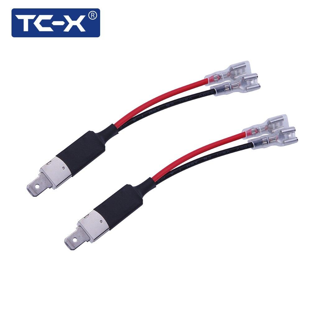 Circuito X : Tc x un par coche faros solo diodo circuito convertidor línea de