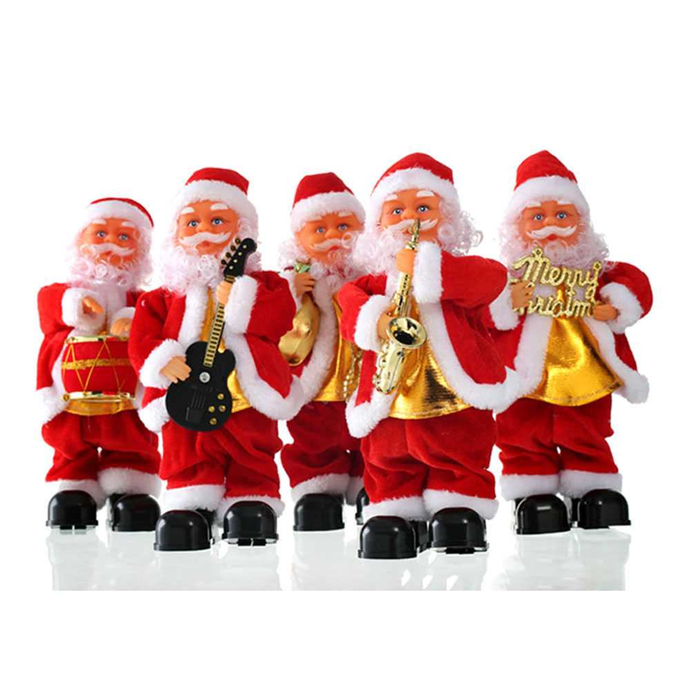 Singing Christmas Decorations: Christmas Decorations For Home Russia Singing Santa Claus