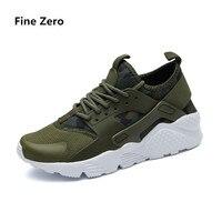 Fine Zero Unisex Plus Size 46 47 48 Lace Up Casual Shoes Men Basket Spring Summer