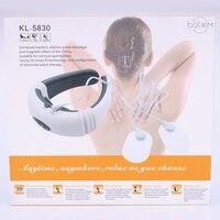 BOLIKIM лучшее качество Электрический массажер для шеи уход терапии инструмент дальней инфракрасного отопления шейного позвонка перевозки ма