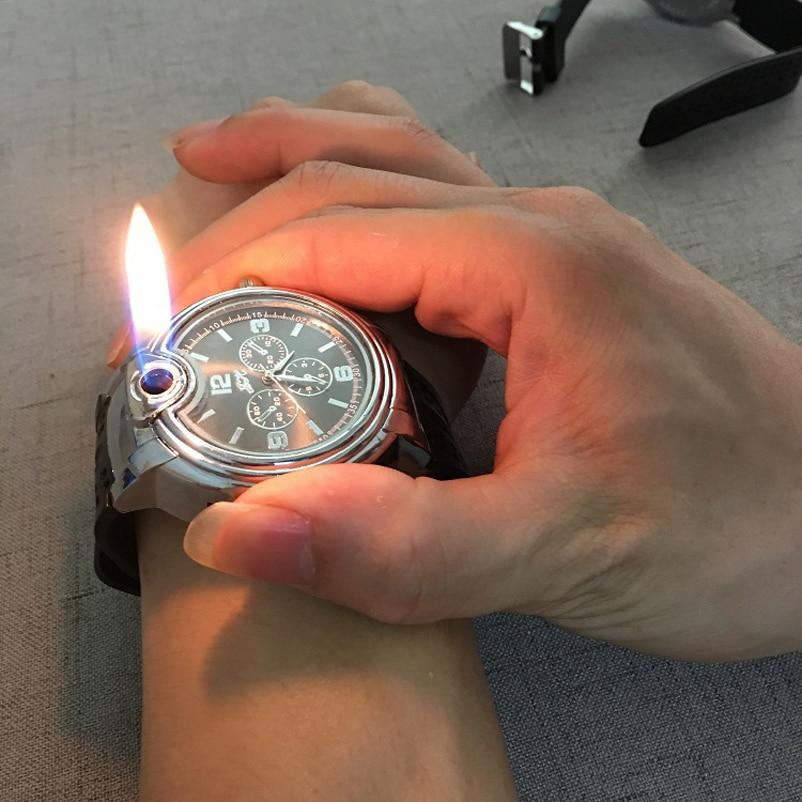 Fashion Lighter Men's Quartz Wrist Watches Creative Military Watches