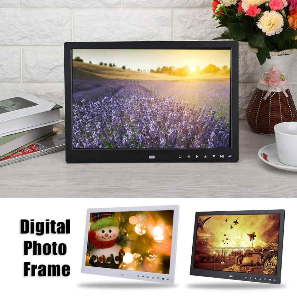 15 inch HD Touch Screen Digital Photo Frame  MP3 MP4 Movie Player Alarm Photo Frames Photo Digital Photos Frames 2018 new style
