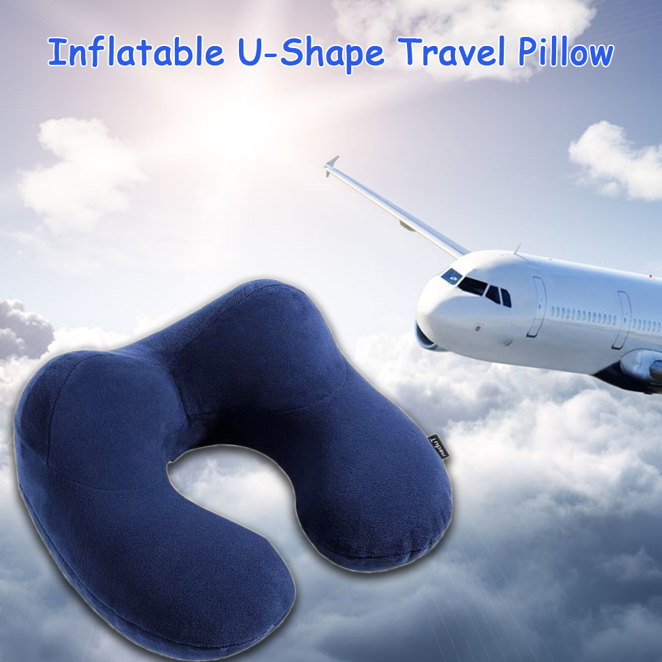 Aufblasbare U Form Reisekissen Für Flugzeug Aufblasbare Nackenkissen Reise Komfortable Kissen Zum Schlafen Und Wohnzimmer Travel Pillow Pillows For Sleepingcomfort Pillow Aliexpress