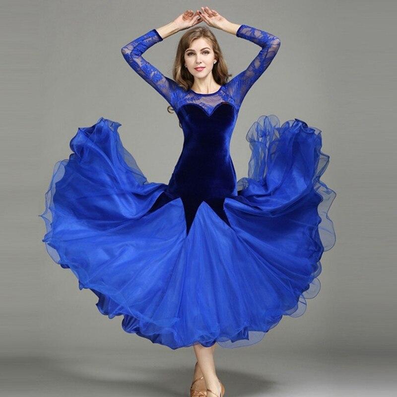 ballroom dresses standard ballroom dancing clothes Competition standard dance dress waltz tango foxtrot dress social dance