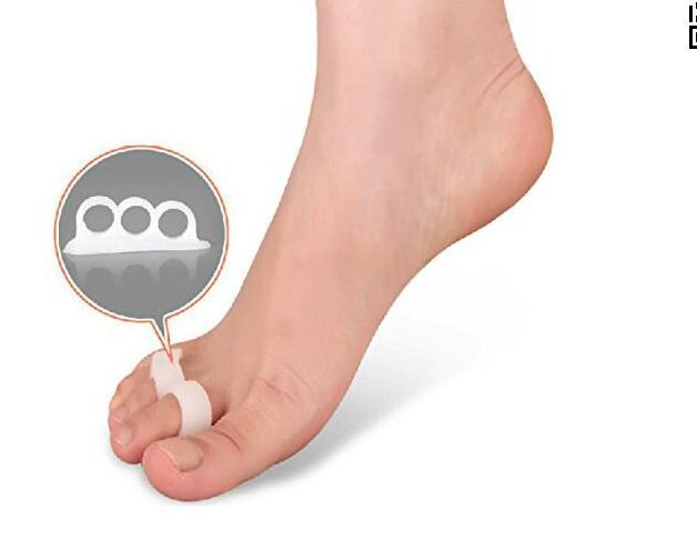 1Pair(2ps) For Sale Hammer Toe Protector Silicone Gel Orthopedic Metatarsal Rings  Feet Care