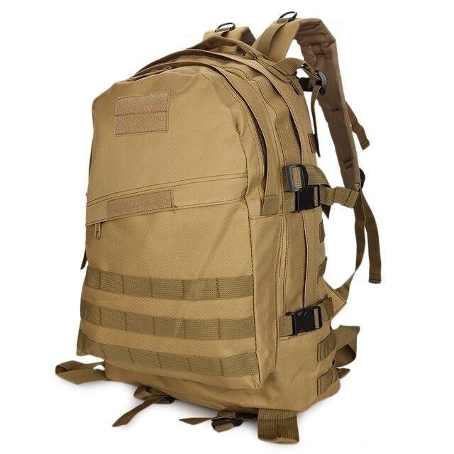 Men's Camouflage Backpack Velcro Unisex Black Military Backpack Army Green Big Male Rucksack Oxford Travel Waterproof Backpack