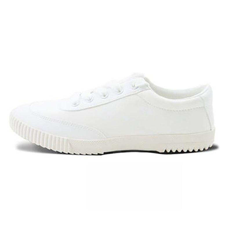 EU36-44 blanc toile TaiChi KungFu baskets Sport formation travail étudiant chaussures skateboard Feiyue chaussures pour les jeunes adultes