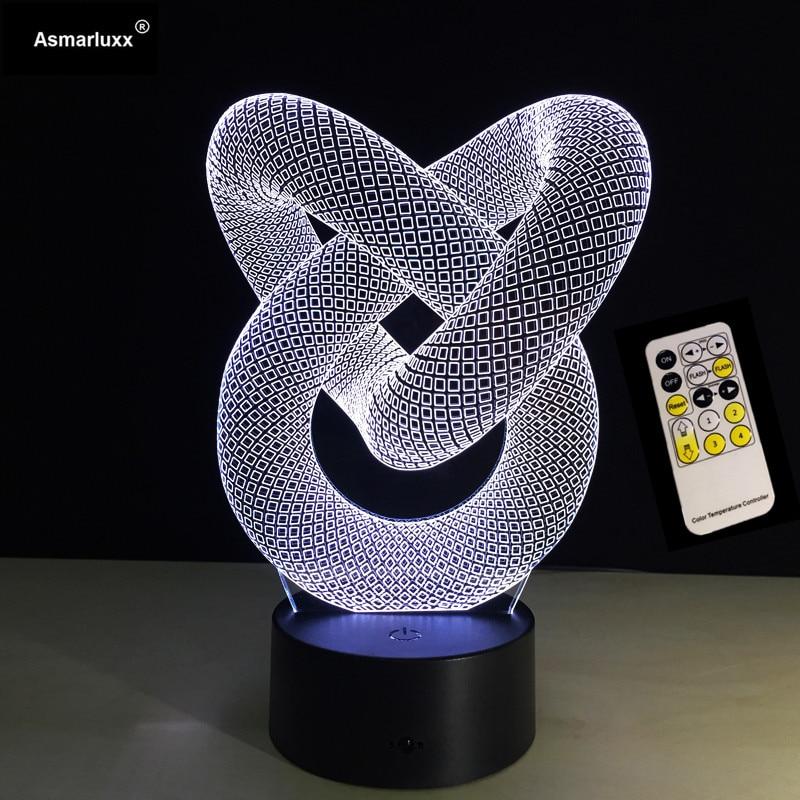 ilusão decoração de parede lâmpada mesa usb