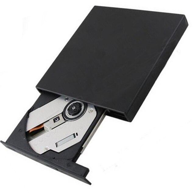 USB 2.0 Slim External DVD Drive Lightscribe for Toshiba Portege Z930