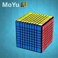 Lo más nuevo MoYu MF9 9x9 cubo mágico MofangJiaoshi cubo 9 capas 9x9 velocidad puzle cubitos forma Twist juguetes educativos chico