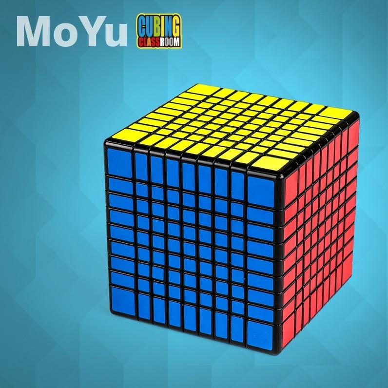MofangJiaoshi MoYu MF9 Cube sans colle Meilong 9x9x9 Cube magique 9 couches forme 9x9 vitesse Puzzle Cubo jouets éducatifs jeu d'enfant