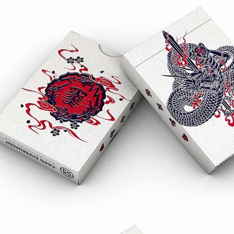 1 cái Sumi Nghệ Sĩ Thẻ Chơi Bài Poker Kích Thước Sàn EPCC Tùy Chỉnh Phiên Bản Giới Hạn Mới Thiết Kế Kín Thí Nghiệm Đạo Cụ Ảo Thuật Magia ảo thuật