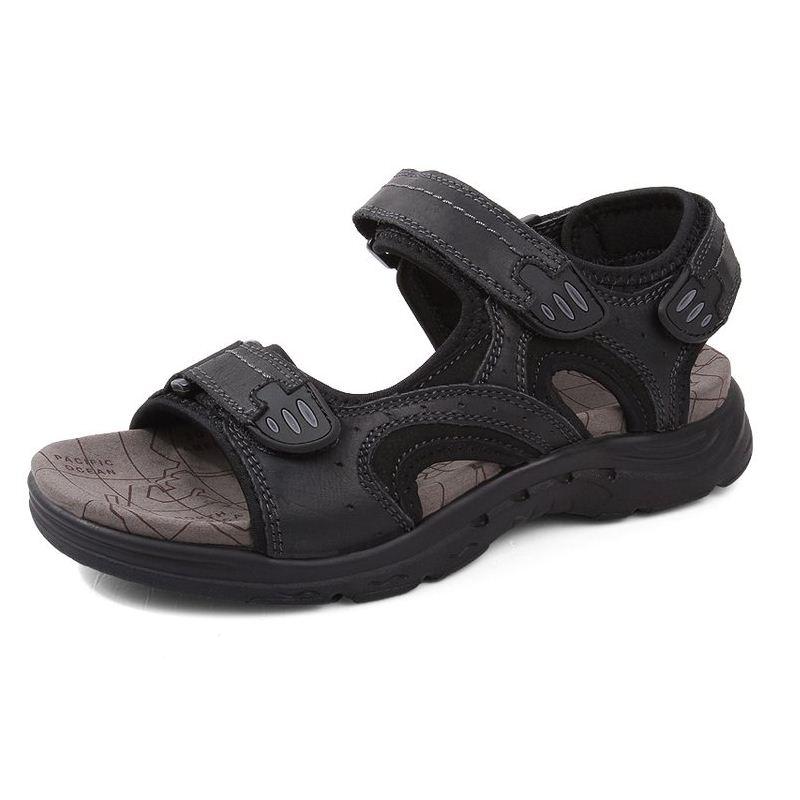 Gladiateur Simple Plage Haute Taille Chaussures Sandales 47 38 En Noir Respirant De Qualité Cuir D'été Loisirs Razamaza kaki Hommes marron aFqZWvF