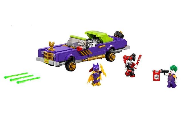 China marca ladrillos bloques de construcción de juguetes compatible con lego película de batman the joker notorio lowrider 70906