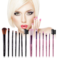 7pcs/kits Professional Nylon Makeup Brushes Set Cosmetics Foundation Brush Tools For Face Powder Eye Shadow Eyeliner Lip